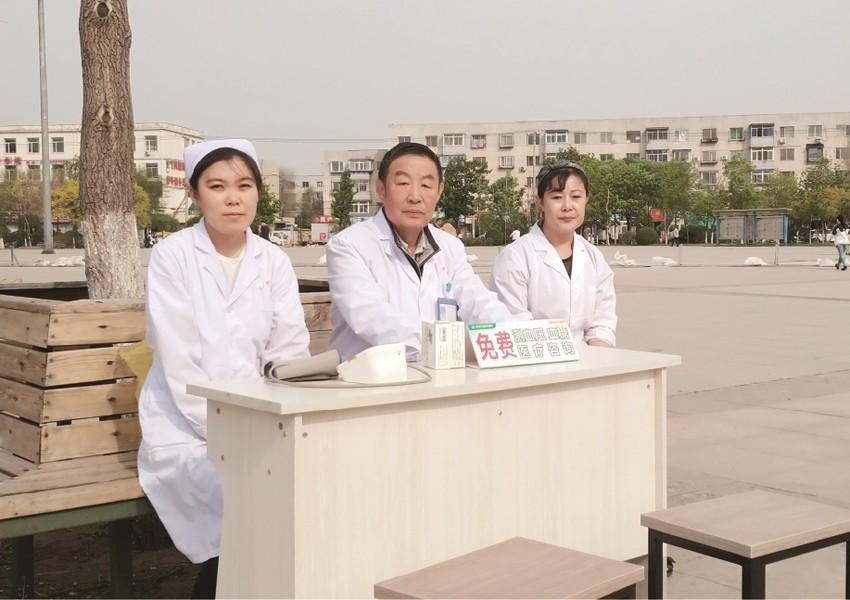 万康中医院开展义诊活动