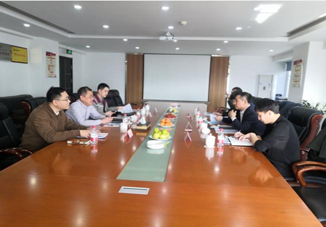 沈阳养老产业集团有限公司领导来我公司调研
